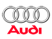 the audi motors company logo