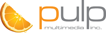 the logo of pulp productions